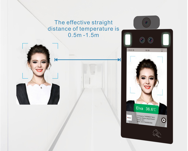 YF220 Face Recognition Infrared Thermometer