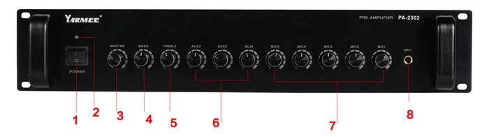 Pre Power Amplifier PA-2302