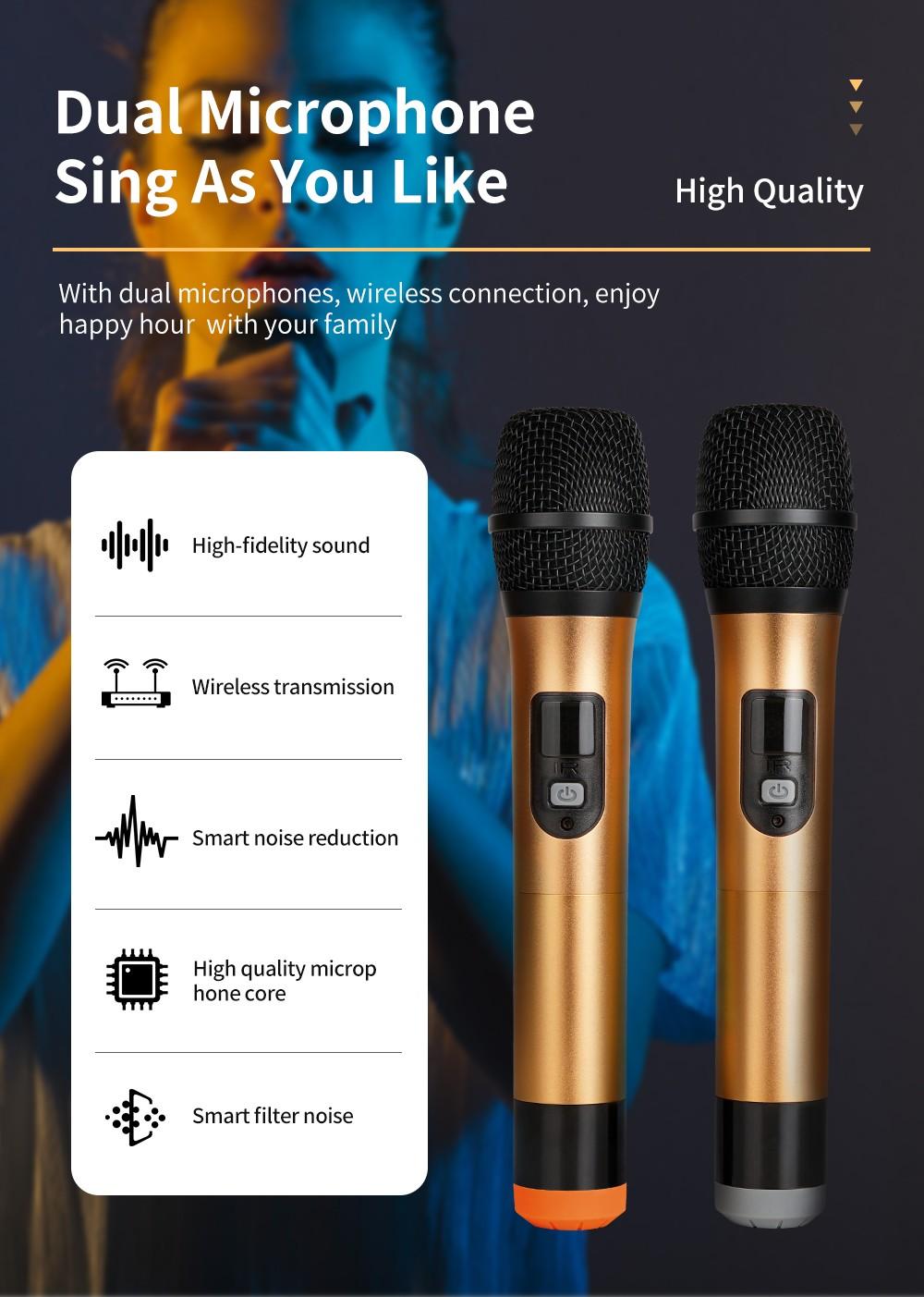 Hot Sell KTV Microphone YKM01