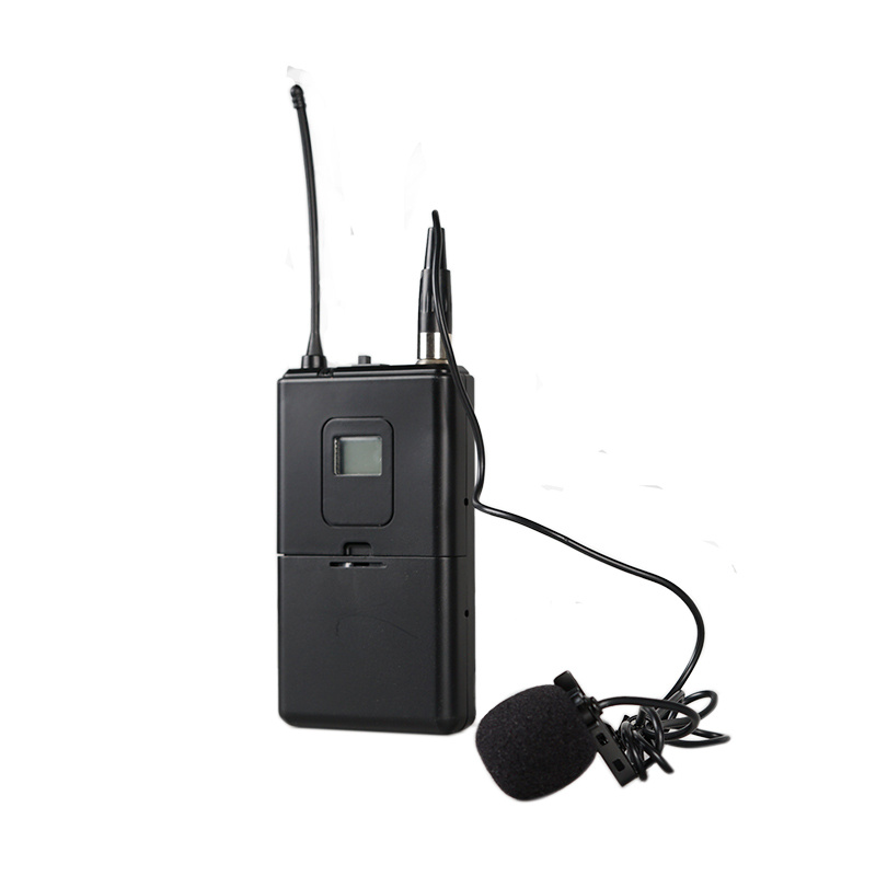 YU25 two channels uhf wireless microphone