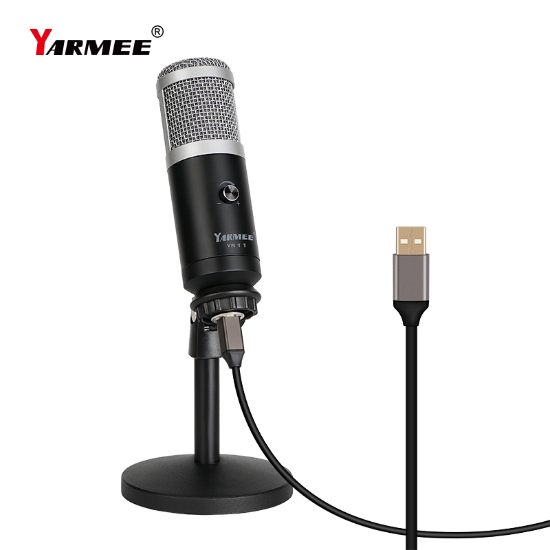 High quality USB microphone for recording live streaming video call YR11