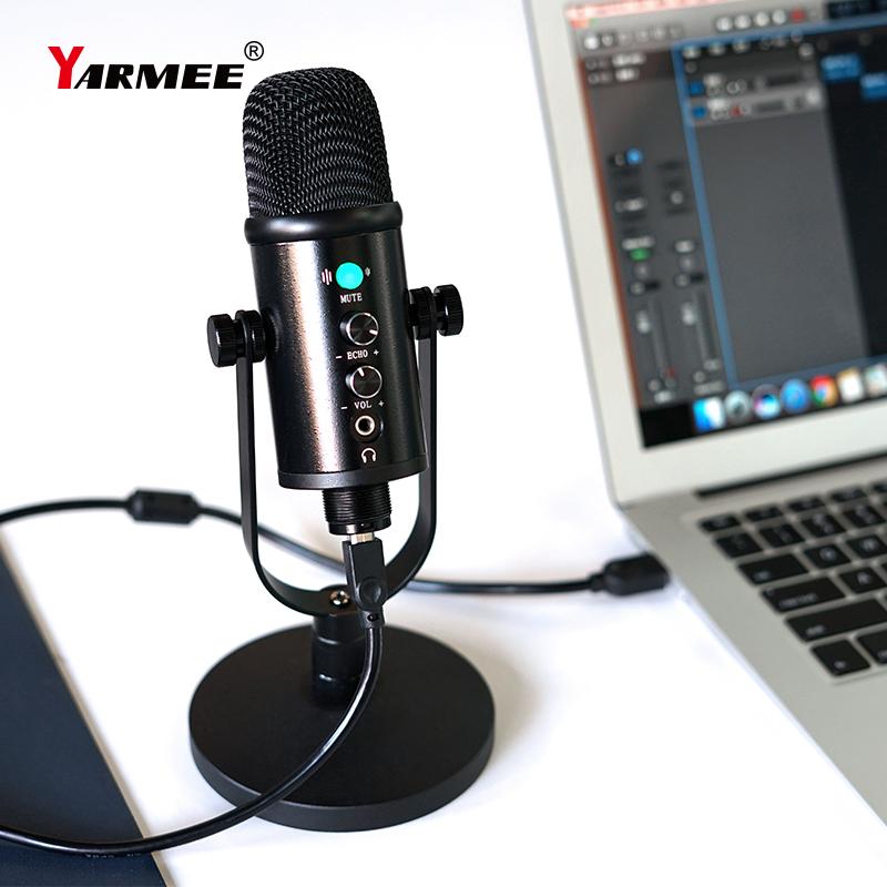 Professional USB Microphone Desktop Mic YR13