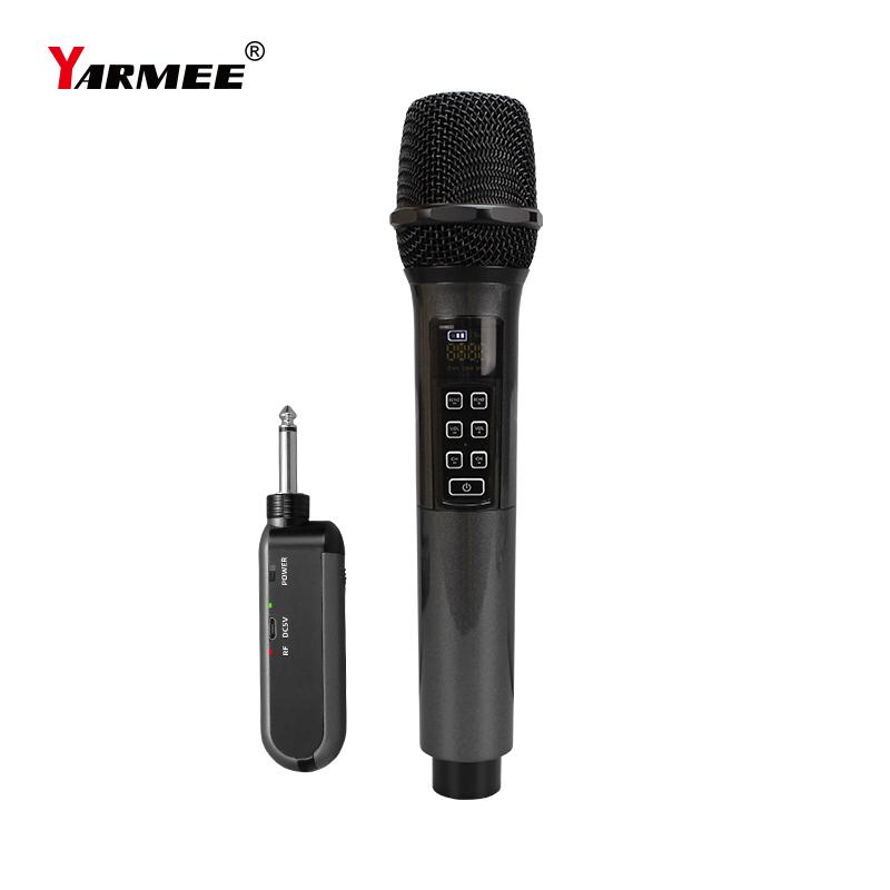 One channel UHF wireless microphone YU12